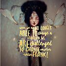 Butterfly Chinese Goddess Typography Wall Art by Monica Michelle