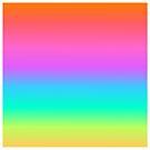 Pastel Rainbow Gradient by julieerindesign