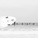 catch a wave II by Ingrid Beddoes