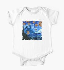 Cookie Monster Starry Cookie Night One Piece - Short Sleeve
