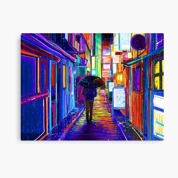 Light Drizzle Canvas Print