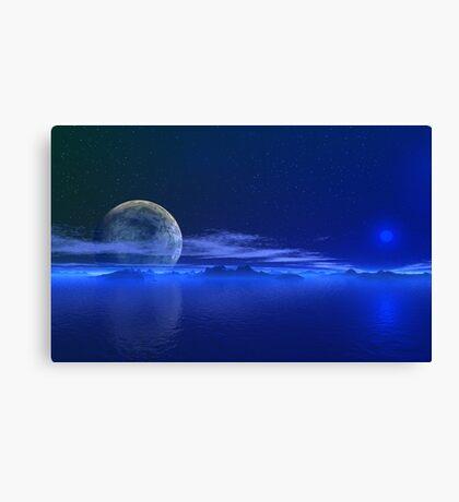 Blue Horizons Canvas Print