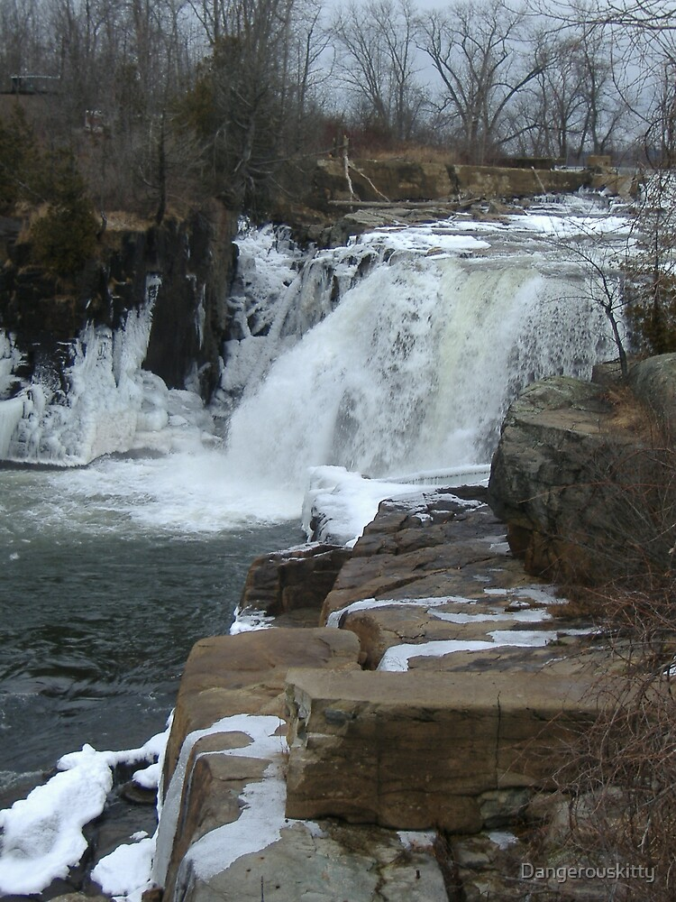 Frozen Falls by Dangerouskitty