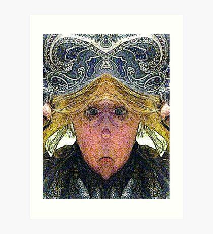 Mirabella H. Lugubrious (Art & Poetry) Art Print