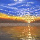 Evening Splash by GeorgeBurr