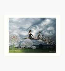 Invasion (from my exhibition) Art Print
