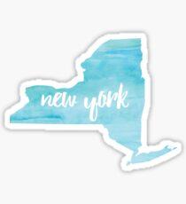 New York– blue  Sticker