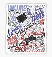 Playstation tribute Sticker