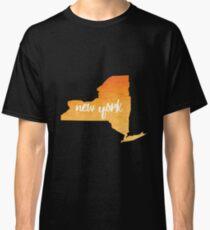 New York– orange Classic T-Shirt