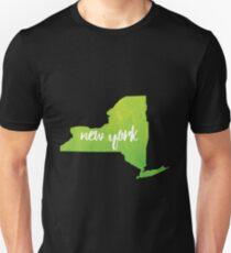 New York– green Unisex T-Shirt