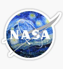 NASA Art Sticker