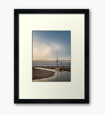"""Sailing Barge Juno"" Framed Print"