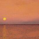 Ocean Sunset by GeorgeBurr