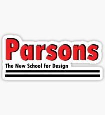 Parsons Sticker