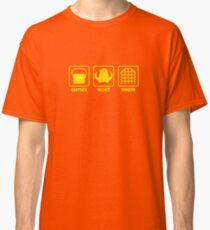 Knapsack, Helmet, Dungeon Classic T-Shirt