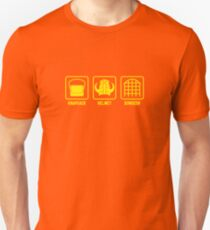 Knapsack, Helmet, Dungeon T-Shirt