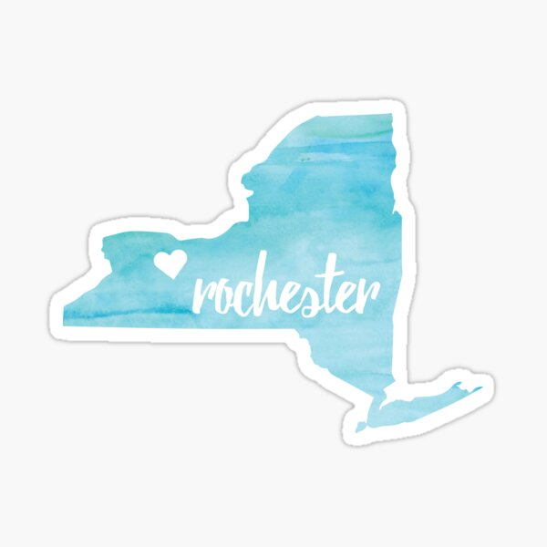 Rochester– blue Sticker