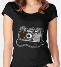The Good Old Days (To Kill A King Inspired) Women's Fitted Scoop T-Shirt