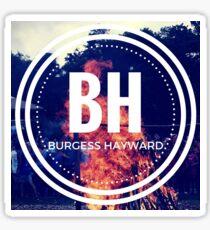 Camp Burgess Hayward Logo Sticker