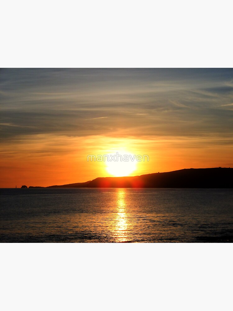 Sunset on the Isle of Man by manxhaven