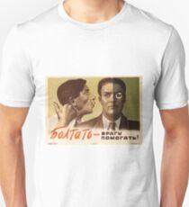 USSR CCCP Cold War Soviet Union Propaganda Posters Unisex T-Shirt