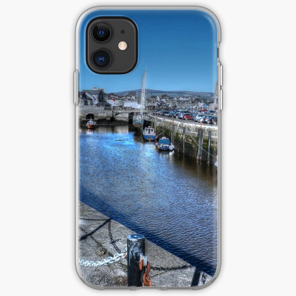Castletown Harbour  iPhone Case & Cover