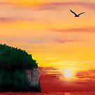Peninsula Park Sunsnet by GeorgeBurr