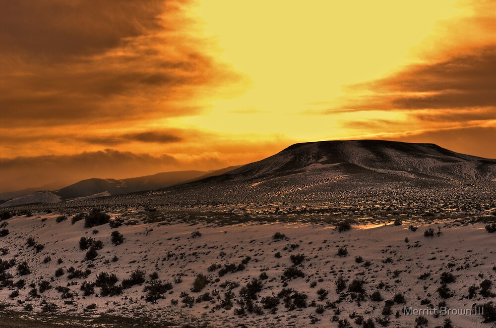 Buffalo Butte #20 by Merritt Brown III