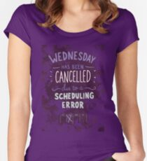 Wednesday Women's Fitted Scoop T-Shirt