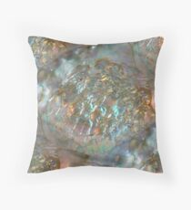 Abalone Dream Throw Pillow