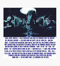 Doctor Who Pandorica Opens (Speech) Photographic Print