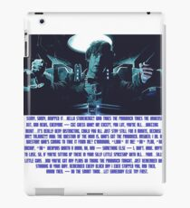 Doctor Who Pandorica Opens (Speech) iPad Case/Skin
