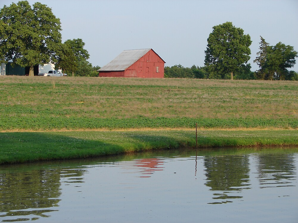 Fritz's Pond -n- Barn by inventor