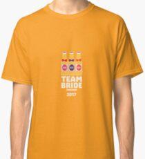 Team Bride Sweden 2017 R2x8p Classic T-Shirt