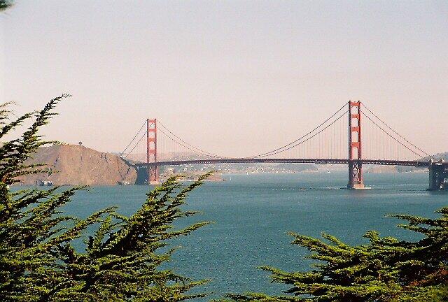 GG Bridge, SF, CA by stephen hewitt