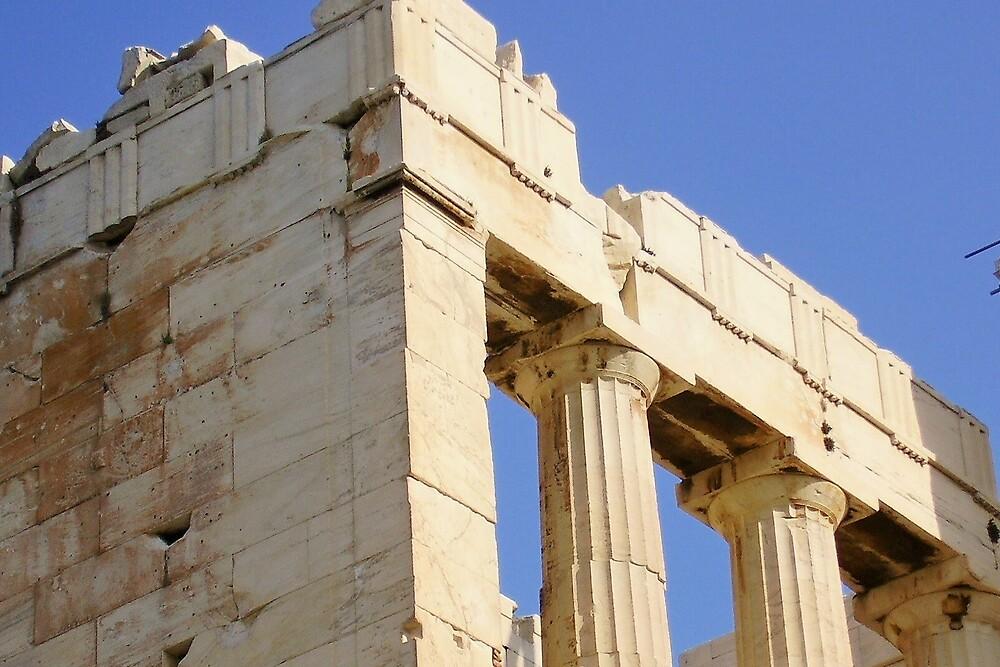 Temple of Athena #2 by Ann Palmieri