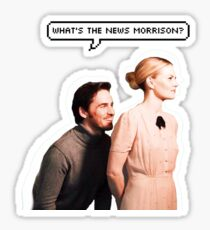 3. What's the news, Morrison? Sticker