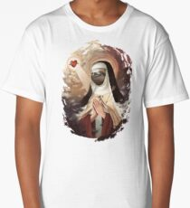 Sloth Mother (#blessed) Long T-Shirt