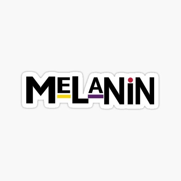 90's Melanin Sticker
