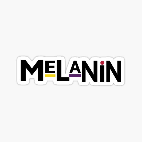 90's Melanin Sticker
