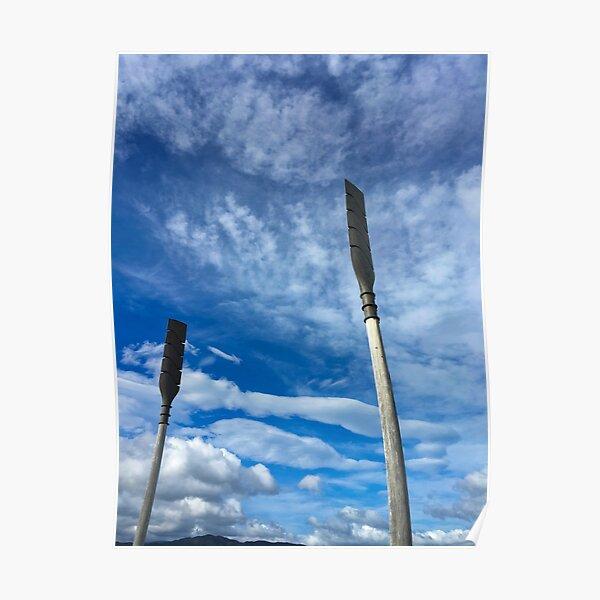 Giant Oars Poster