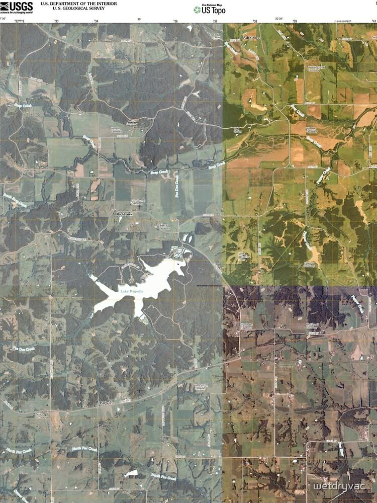 USGS TOPO Maps Iowa IA Paris 20100507 TM von wetdryvac