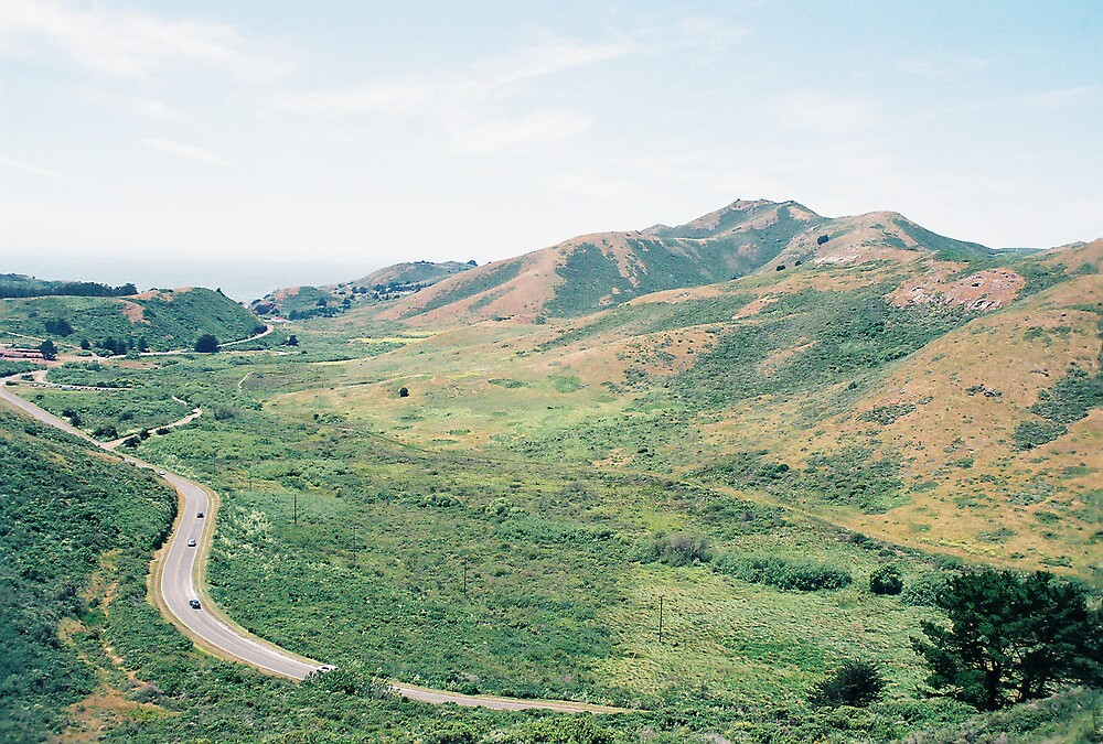 GGNRA, Hill 88, Marin Headlands, CA by stephen hewitt