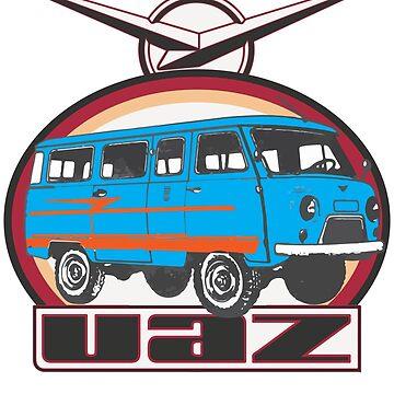 UAZ 452 V by Groenendijk