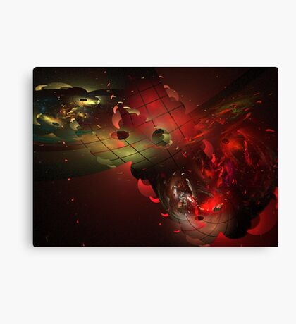 Distortion of Reality Canvas Print