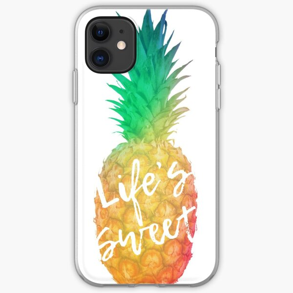 Life's Sweet iPhone Soft Case