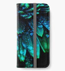 Midnight Blue iPhone Flip-Case/Hülle/Skin