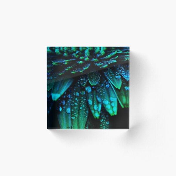 Midnight Blue Acrylic Block