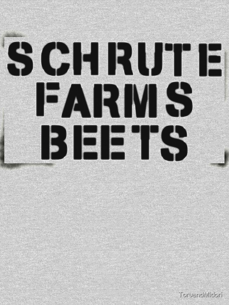 TShirtGifter presents: SCHRUTE FARMS BEETS | Sweatshirt