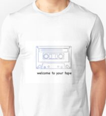 13 reasons why - welcome to your tape Unisex T-Shirt